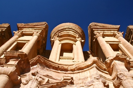 The Monastery at Petra Jordan photo