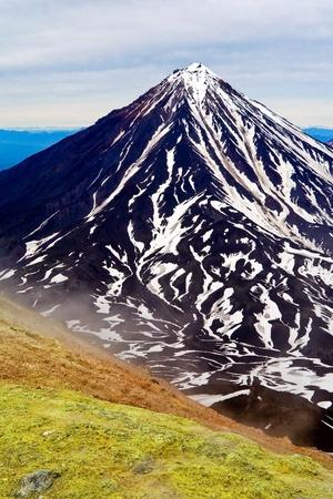 kamchatka: Vulcan Koryakskiy on the Kamchatka