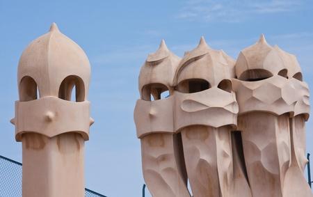 paseig: Barcelona  Gaudi  La Pedrera or Casa Mila