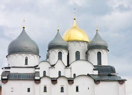 Saint Sophia cathedral in Kremlin of Great Novgorod Russia Stock Photo - 13380148