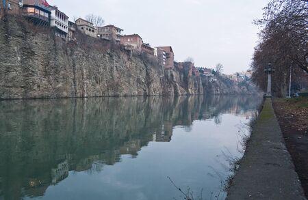 tbilisi: Della citt� di Tbilisi Georgia, il Caucaso regionll Archivio Fotografico