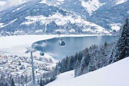 Ski resort Zell am See  Austria photo
