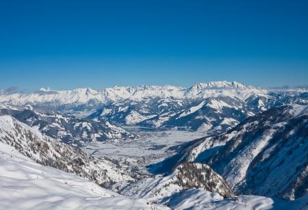 wintersport: Ski resort of Kaprun, Kitzsteinhorn glacier. Austria
