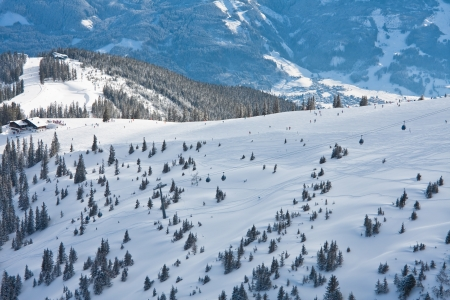 zell am see: Ski resort Zell am See. Austria Stock Photo