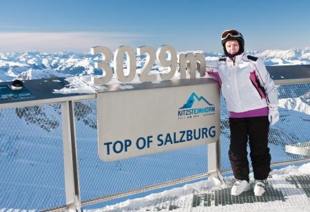 kitzsteinhorn: Ski resort of Kaprun, Kitzsteinhorn glacier. Austria