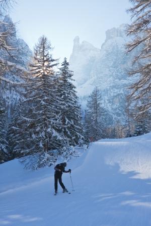gardena: Ski resort of Selva di Val Gardena, Italy