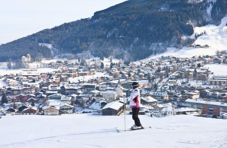 Station de ski Kaprun - Maiskogel. Autriche Banque d'images - 22548660