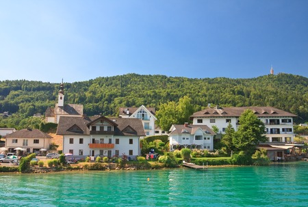 Resort Maria Worth en Lake Worth (Wörthersee). Oostenrijk