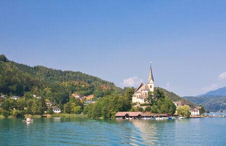 primus: Resort Maria Worth. Church of St. Primus and Felician. Austria