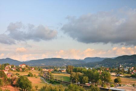 Resort Portschach am Worthersee. Oostenrijk
