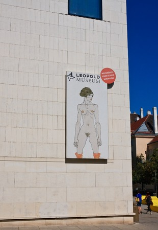 leopold: Leopold Museum. Vienna, Austria  Editorial