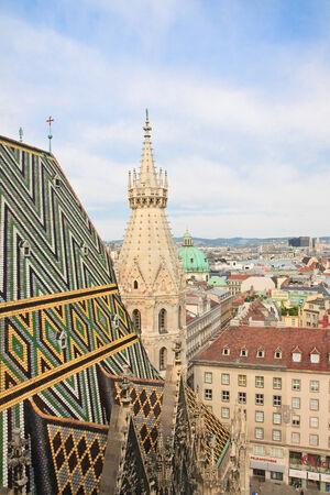 stephen: Veduta di Vienna con Santo Stefano