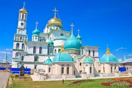 constantine: Great monasteries of Russia. New Jerusalem monastery, Istra.