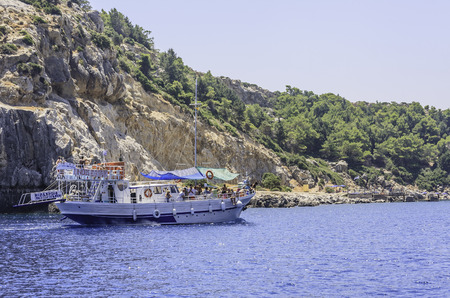 Anthony Quinn Bay (Anthony Quinn). Rhodes Island. Greece