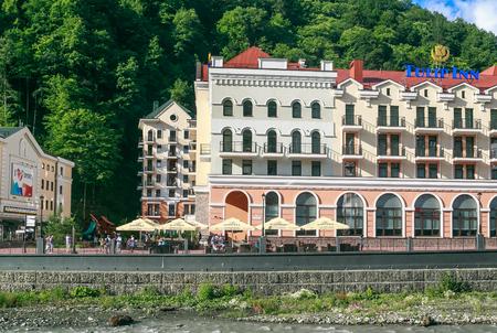 rosa: Tulip Inn Rosa Khutor Hotel. Ski resort Rosa Khutor, Sochi