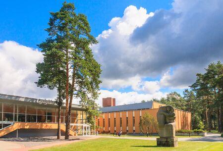 medical building: Medical building health resort Egle� (Gydykla). Druskininkai, Lithuania Editorial