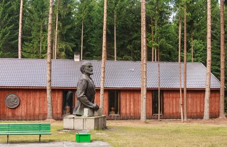 communists: Sculpture Lenin. Grutas Park. Lithuania