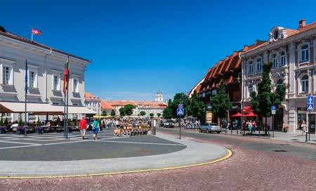 vilnius: City landscape. Vilnius. Lithuania Editorial