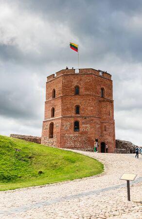 lithuania: Tower of Gediminas, Vilnius, Lithuania Editorial
