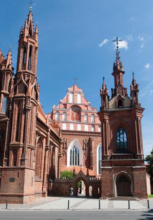 vilnius: Bernardine Catholic church. Vilnius, Lithuania