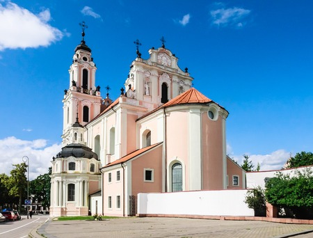 catherine: Vilnius. Church of St. Catherine. Lithuania