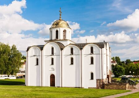 annunciation: Church of the Annunciation. Vitebsk. Belarus Stock Photo
