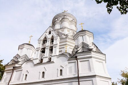 beheading: Moscow. Church of the Beheading of St. John tt in Kolomenskoye (the former village of Djakovo). Russia