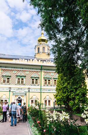 theological: Royal Halls of the temple of the Intercession of the Mother of God. Trinity-Sergius Lavra. Sergiev Posad. Moscow region Editorial