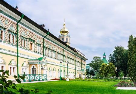Royal Halls of the temple of the Intercession of the Mother of God. Trinity-Sergius Lavra. Sergiev Posad. Moscow region Stock Photo
