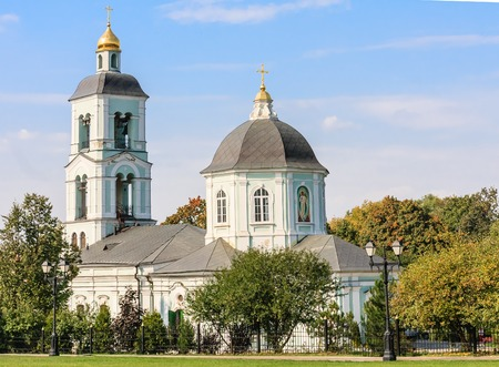 tsaritsyno: Temple of the Mother of God Life-Giving Spring. Tsaritsyno. Moscow