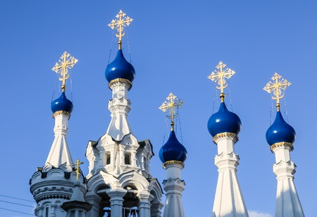 malaya: Temple of the Nativity of the Blessed Virgin Mary in Putinki on Malaya Dmitrovka. Moscow, Russia