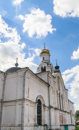 Fragmnt of the  St. Nicholas Church in the village of Rogachevo, Dmitrov district, Moscow region