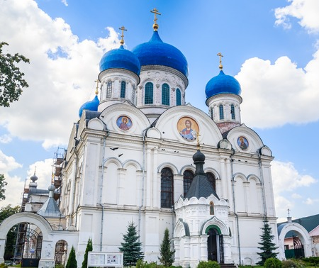 St. Nicholas Church in the village of Rogachevo, Dmitrov district, Moscow region
