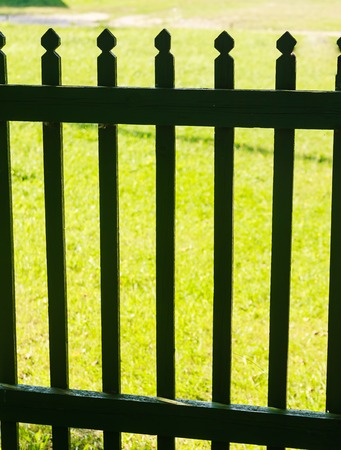 picket: Wooden fence picket