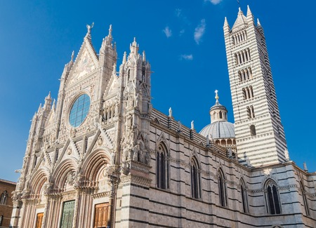the firmament: Siena dome (Duomo di Siena), Italy