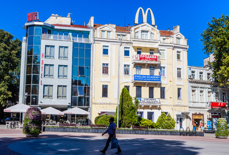 mcdonalds: The building in the city of Varna, Bulgaria