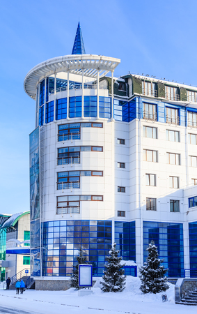 Resort hotel Belovodje. Belokurikha, Altai, Russia