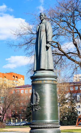 felix: Monument to Felix Dzerzhinsky in the Museon Art Park in Moscow, Russia