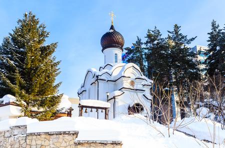 Church of St. Nicholas. Resort Belokurikha. Altai, Russia