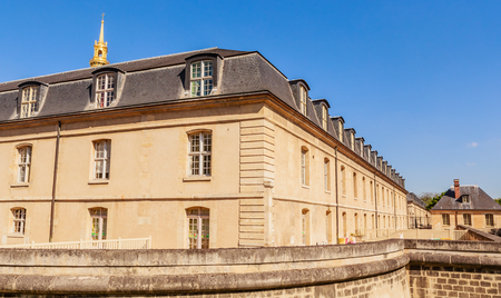 Left wing of the building of the House of Residence of Invalids. Paris, France