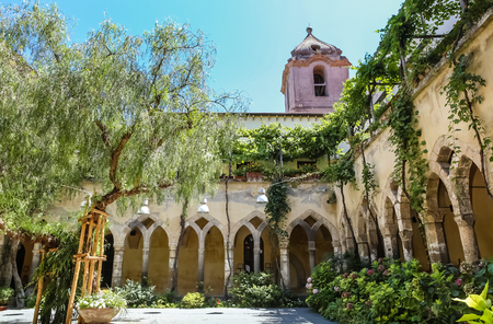Church and Convent of St. Francis, Sorrento, Italy.