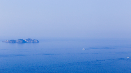 Vista de Li Galli, an archipelago belonging to the town of Positano, a few kilometers south of the Sorrento peninsula and consists of three islands