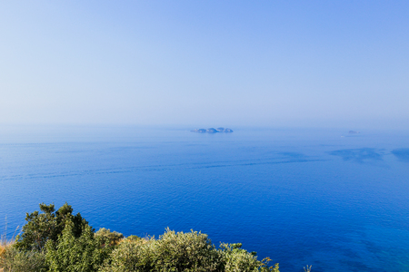 Vista de Li Galli, an archipelago belonging to the town of Positano, a few kilometers south of the Sorrento peninsula and consists of three islands