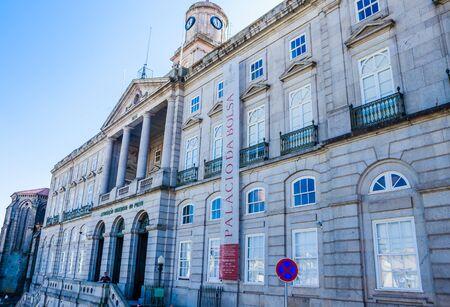 Palacio da Bolsa (Palacio de la Bolsa de Valores), Oporto, Portugal.