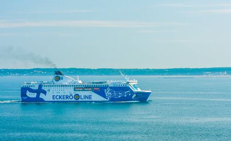 Car and passenger ferry Finlandia operated by Eckerö Line on the Helsinki Tallinn route