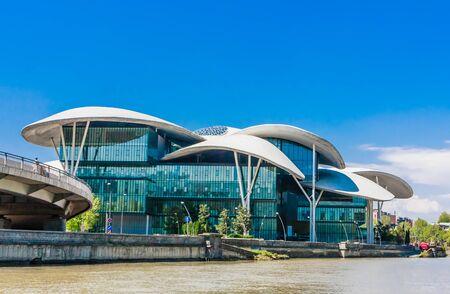 Georgia, Tbilisi, Public Service Hall, housing an assortment of government organisations Foto de archivo