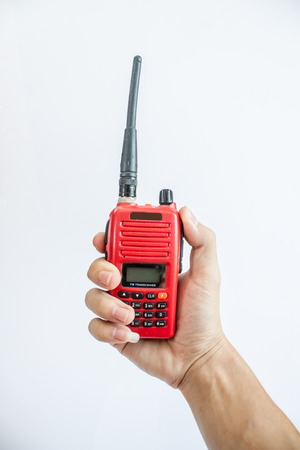 radio communication: Radio communication Stock Photo