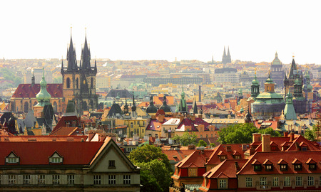 Prague Stock Photo
