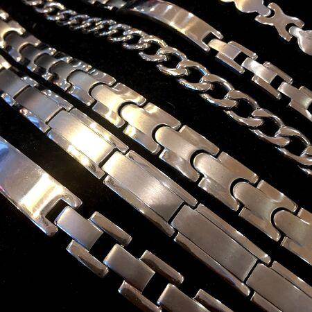 silver: Jewelry Stock Photo