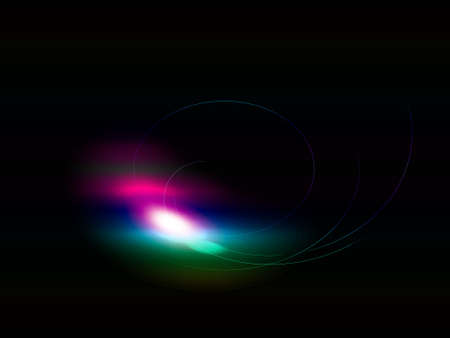 Abstract color light background. Computer generated image
